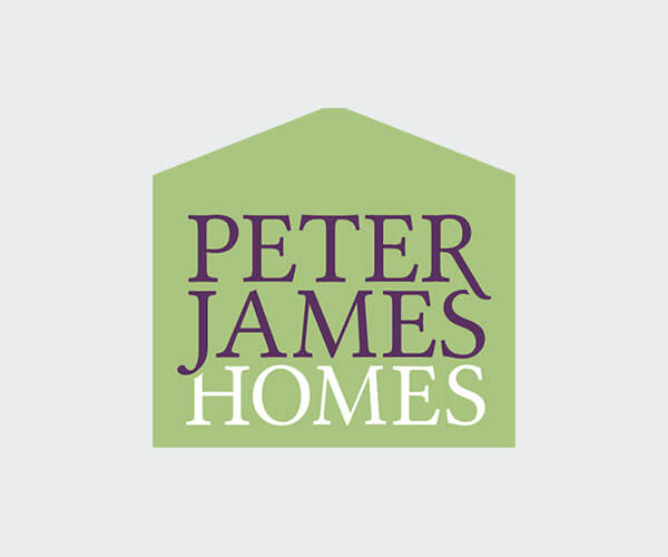 PJH logo with grey background