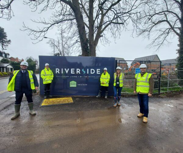 The Riverside development in West Bridgford